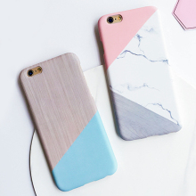 LACK Geometric Splice Pattern Marble Case For iphone 7 Case For iphone7 7 Plus Phone Cases Funny Stone Back Cover Fashion Capa(China)