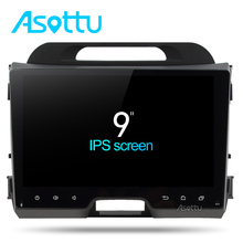 Asottu CZP9060 Octa 8 core car dvd for KIA sportage 2011 2012 2013 2014 2015 car pc head unit gps navigation 2 din car stereo(China)