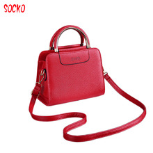 2018 Women's Messenger Bags Ladies Handbag Casual Original Bag Shoulder Female High Quality Crossbody Bag WN 27(China)