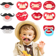 Silicone Baby Pacifier Funny Dummy Nipple Toddler Pacy Orthodontic Teat Infant Teeth Soothers Pacifiers chupeta alimentadora