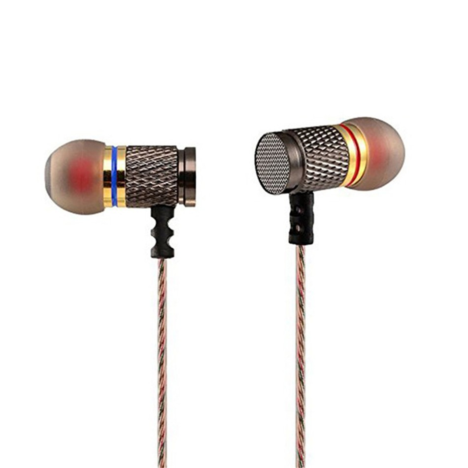 OARIE Metal Earphones with Microphone Noise Cancel...
