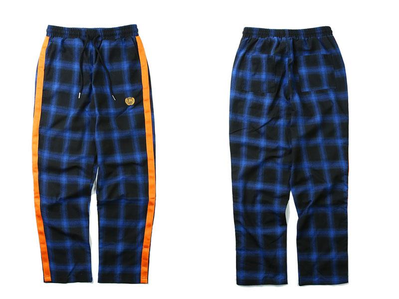 Side Ribbon Plaid Pants 5