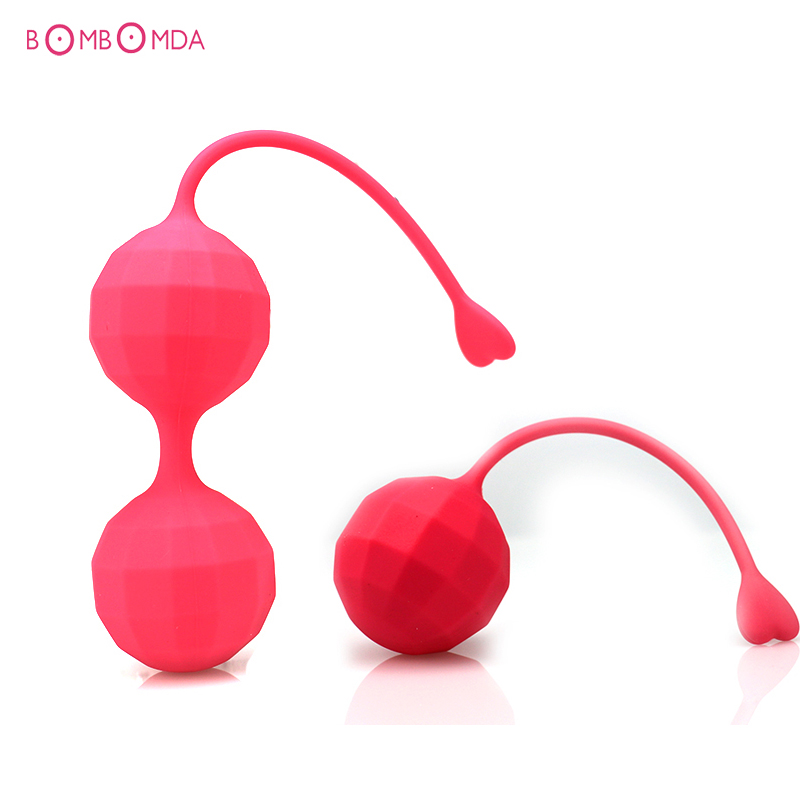Silicone Smart Ball G Spot Vagina Massage Stimulation Exercise Ball Kegel Ball Adult Products Sex Toys Women Sex Shop 2 PCS