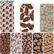 ciciber Funny Kimoji Kanye West Kardashian Pattern Soft Silicon Phone Cases  Cover for IPhone 6 6S 7 8 Plus 5S SE X Capinha Coque 47b0f10a1fed