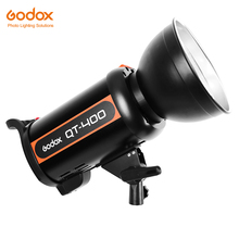 Godox QT Series QT400 400WS High-Speed Photography Studio Strobe Flash Modeling Light Recycling Time 0.05-1.2s(China)