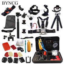 Buy BYNCG Tripod Gopro Accessories Set Helmet Harness Chest Head Mount Strap Monopod Go pro hero 5 Hero 4 3+ 3 xiaomi yi SJ4000 for $28.53 in AliExpress store