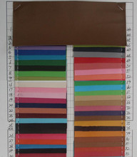 thin 0.5mm PVC leather fabric Spunlace bottom artificial leather material wholesale factory cheap price(China)