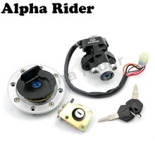 Ignition Switch Fuel Gas Tank Cap Cover Seat Lock Key Set for Suzuki GSXR 600 97-00 GSX-R 750 1993 1994 1995 1996 1997 1998 1999(China)