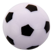 Small Soccer Foosball Table Ball Plastic Hard Homo logue Children Game Toy Black White(China)