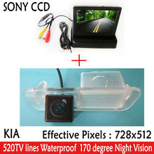 Buy car accessories Paking HD Revere SONY CCD Car Rear View Camera 4.3 inch Car Rearview Mirror Monitor Kia K2 RIO Sedan for $45.12 in AliExpress store