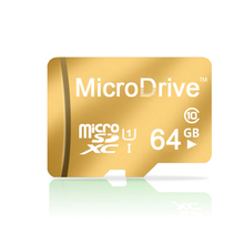Clean up inventory! Gold Gift 8GB 16GB 32GB 64GBMemory Card TF Card Micro SD Card Hot !!
