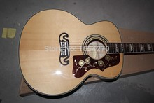 new wholesale  Pete Townshend signature  natural Tiger stripes Electric Acoustic Guitar  with fishman Pickup 151112