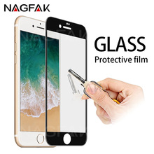 Buy NAGFAK Anti-Scratch Tempered glass iPhone 7 6 8 Full Cover Screen Protector iPhone 6 6s Plus 7 8 Plus Protective Glass for $1.42 in AliExpress store