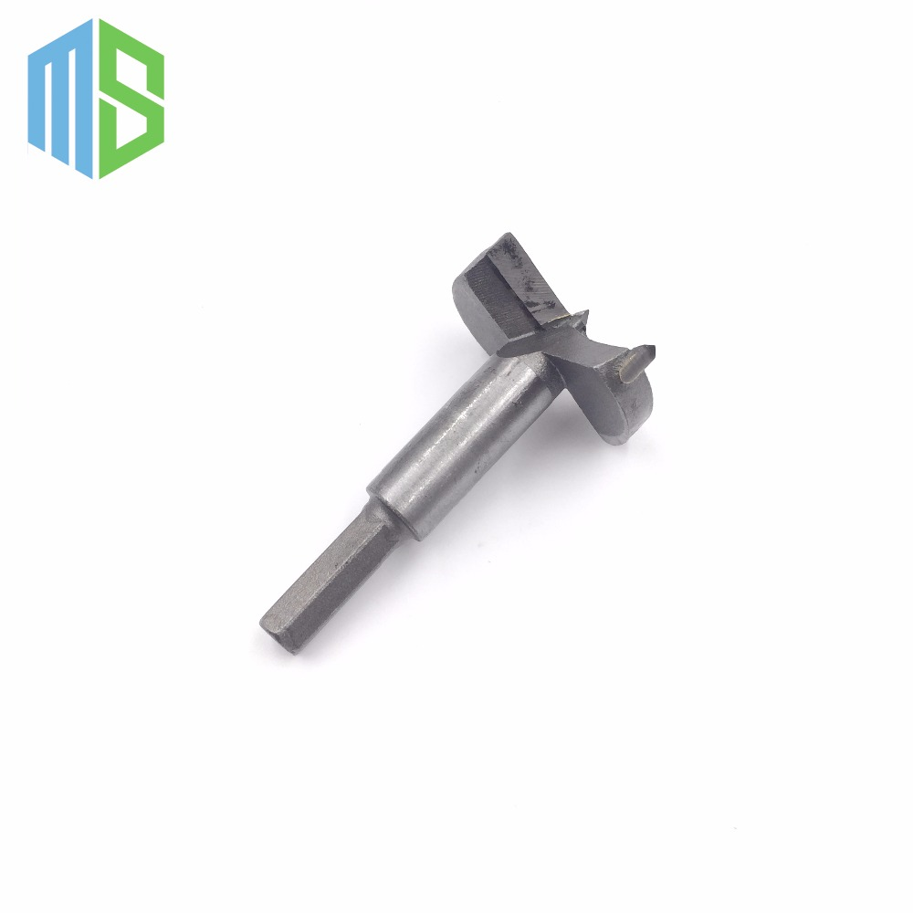 2PCS High Quality 45mm New Forstner Auger Drill Bit Woodworking Hole Saw Wood Cutter Silver Tone new<br><br>Aliexpress