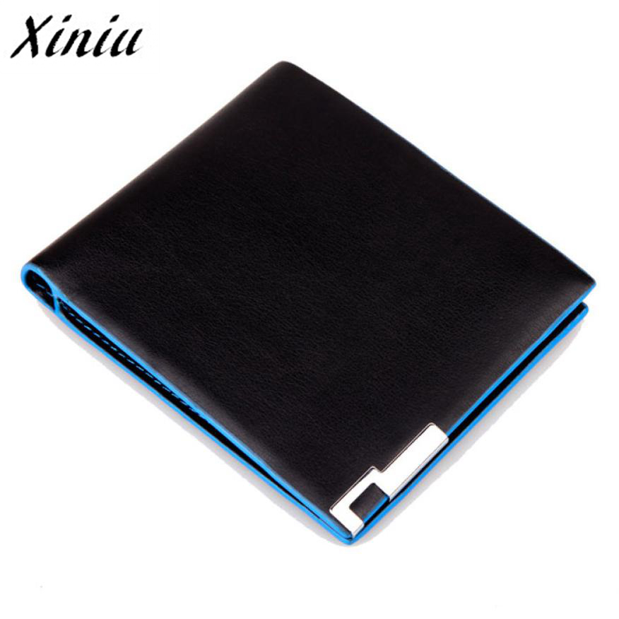 Xiniu Men Stylish Bifold Business Leather Wallet Men Wallets Brand High Quality Designer wallets gift for men card holder A7712(China (Mainland))