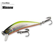 1pc Countbass Minnow Hard Lure 57mm, Trout Fishing Bait,  Freshwater  Bass Wobblers, Free shipping