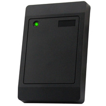 Black Plastic EM ID Weigand 26 Wired RFID Proximity Card Reader(China)