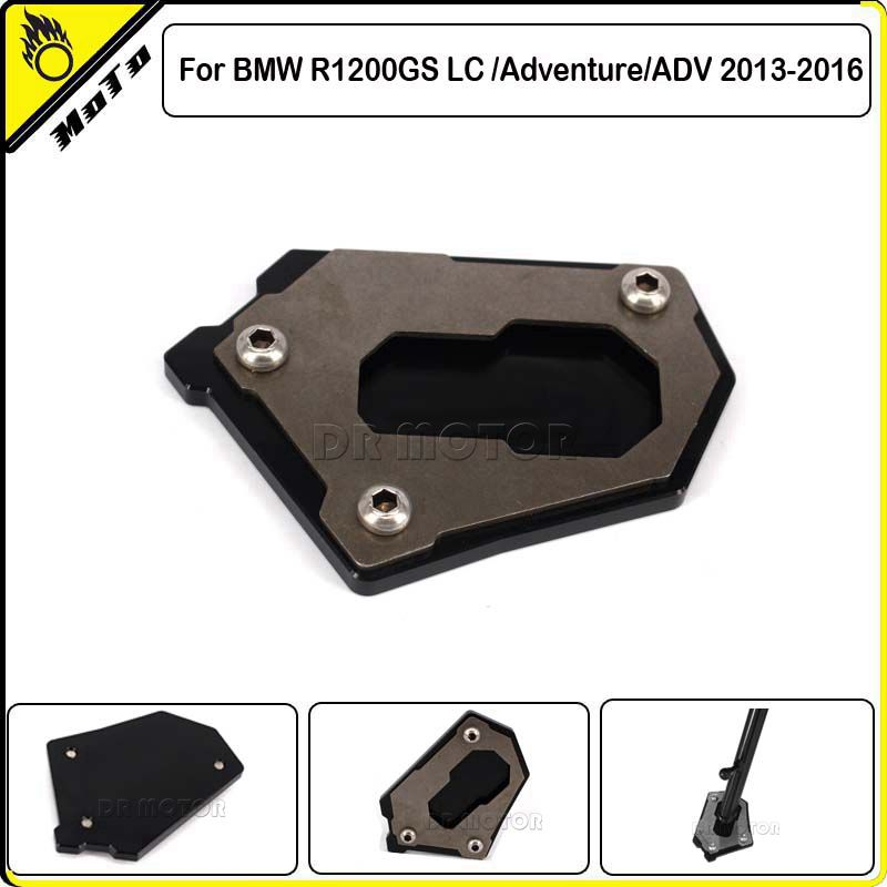 CNC Motorcycle Side Kickstand Stand Extension Plate SIDE STAND ENLARGER For BMW R1200GS LC /Adventure/ADV 2013 2014 2015 2017 <br><br>Aliexpress