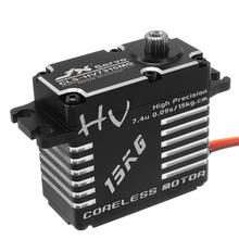 Hot Sale JX CLS-HV7315MG Coreless Servo 15KG HV High Precision Steel Gear Digital Brushless RC Helicopter Parts Accessories(China)