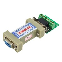 New RS232 to RS485 Communication Data Converter Adapter with a Terminal Board #DY430