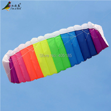 HOT SELL New 2.7m Stunt Power Kite  Kite Boarding  Kite Surfing So Exciting and Good Flying  Free Shipping