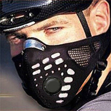 New Sport Cycling Face Mask Half Face Neoprene Mask Winter Warm Outdoor Ride Bike Mask Neoprene Bicycle Cycling Motorcycle Mask(China)