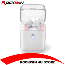 Mini Twins True wireless Bluetooth4.2 earphone for iPhone 7 Earbuds Headset Double Stereo Earbud For AirPods Android Smartphones