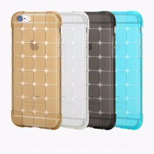 Picasso Cube Shape Soft Gel Phone Cases 3D Box Square Ice Brick Cover For iPhone 4 4S 5 5S SE 6 6S 6Plus 6SPlus C1550