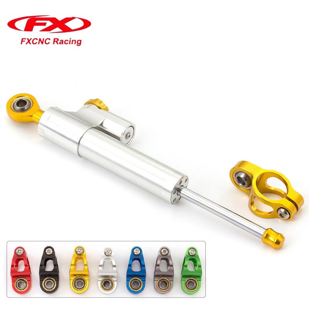 FX CNC Motorcycle Accessories Damper Stabilizer Damper Steering Reversed Safety Control For SUZUKI GSXR 600 750 K4 2001 - 2005<br>