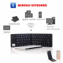 Wireless Keyboard Android Bluetooth Keyboard Opvouwbaar Wireless Mini Keyboard Tablet Teclado Inalambrico Folding Keyboard GK228