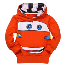 더 싼 패션 Boys Girls Cartoon Printed 봄 가 Sport Hoodies T Shirt 겉 옷 cute Kids sweatshirt baby girl 옷(China)