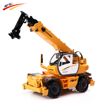 KAIDIWEI  1:50  Alloy Multi-Functional Machine Cranes Car  Diecast Metal Model
