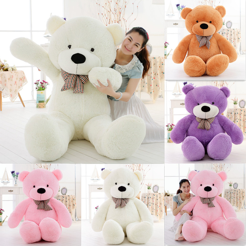 [color] 5100 cm plush toy bear, plush toy plush toy factory<br><br>Aliexpress