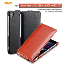 for Sony Xperia Z1 Case for sony xperia z1 L39H c6903 c6902 Luxury flip leather case cover mobile phone accessories iMUCA capa(China)