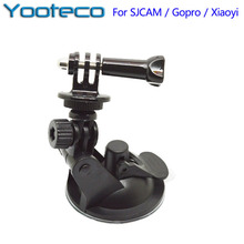 for Gopro Accessories Action Camera Suction Cup Tripod Mount Handle Screw for GoPro  4 3 2 1 SJCAM SJ4000 EKEN H9 Xiaomi Yi Cam