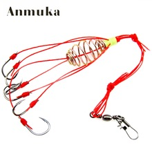 Anmuka 4Pcs/Lot Explosion Fishook Fishing Hooks Pack Fishing Tackle Fish Hooks Super Deal High Carbon Steel Sharp Fishhooks