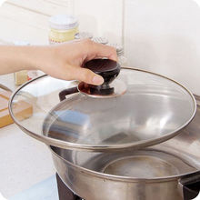Universal Kitchen Cookware Replacement Utensil Pot Pan Lid Cover Circular Holding Knob Screw Handle Hot Sale 2016