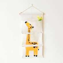 Cartoon Animal Flamingo Door Hanging Bag Storage Organizer Home Wall Pockets For Kids Room Organizadores Hanging Bag EJ898864
