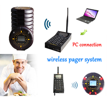 Ycall Computer Software Lan support Inner POCSAG Encoder 1 keyboard and 10 coaster pager Guest Paging System(China)