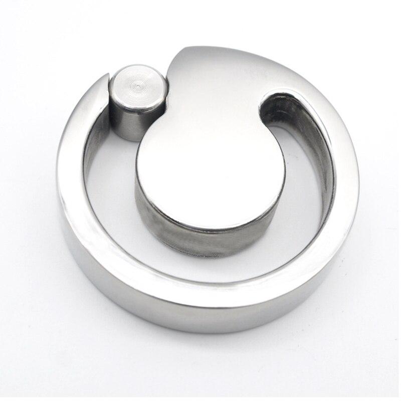 New Sainless Steel Cock Ring Ball Stretcher U Groove Design Scrotum Ring Pendant Bondage Metal Penis ring Adult Sex Toys For Men<br>