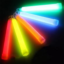 5pcs Christmas Party Glow Sticks shaking up making the lively atmosphere Vocal Concert Glowing Stick Chemical Fluorescent Light(China)