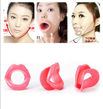 1 Pcs Silicone Rubber Face Slimmer Massage Muscle Tightener Anti-Aging Anti-Wrinkle Mouth Oral Exerciser Massager Face-lift Tool