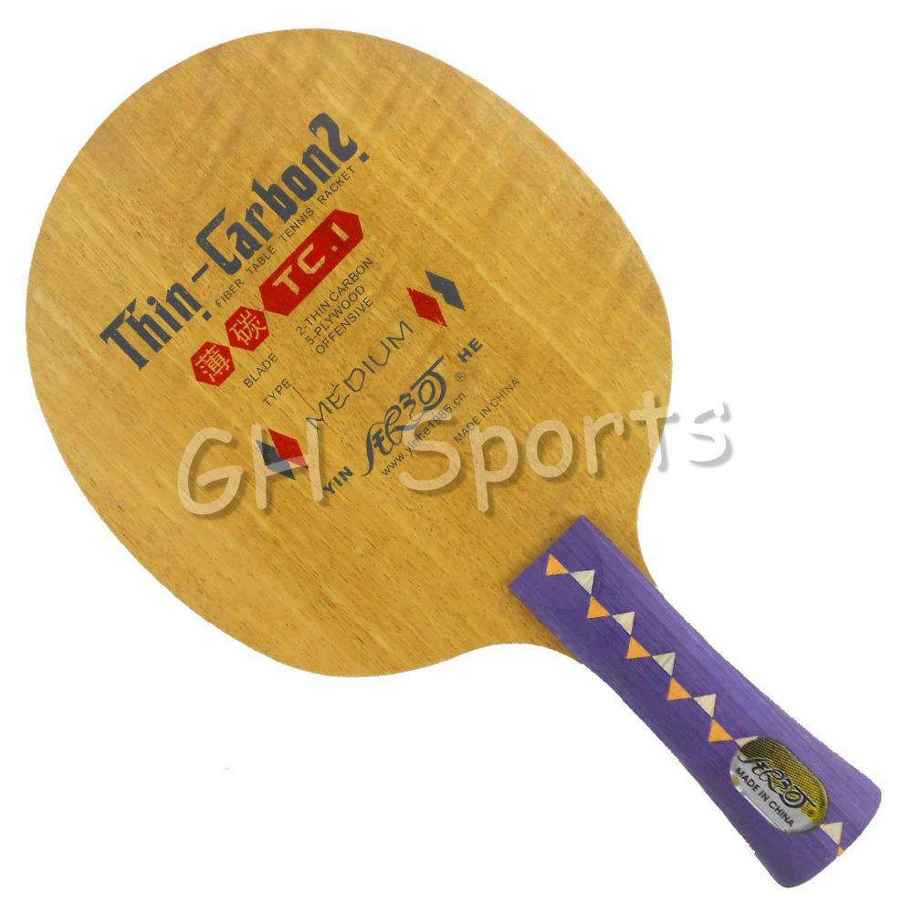 Galaxy / Milky Way / Yinhe TC-1 (TC 1, TC1) Thin-Carbon2 Loop+Attack Table Tennis Blade for PingPong Racket<br>