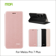 For Meizu Pro 7 Case Mofi PU Leather Case Flip Style Mobile Phone Cases For Meizu Pro 7 Stand Cover