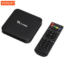 Hot TX3 Pro Amlogic S905X Quad Core 4K Android 6.0 TV Box 1G/8G Smart TV Portugal Russian Hebrew IPTV Europe Media Player Box