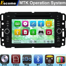 MTK3360 Car DVD Automotivo For GMC Sierra GMC Tahoe 2007 2008 2009 2010 2011 2012 with Radio Stereo GPS Navigation