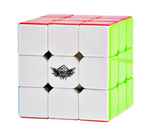 57mm Cyclone Boys Professional Magic Cube Puzzle Cubes Speed Cubo Square Puzzle Gifts Educational Classic Toys Gifts(China)