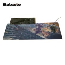 Babaite New Design Unique High Quality Desktop Pad Mousepads Computer Animation Mouse Mat Silica gel Gaming The Witcher 3 Wild