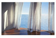 Decorative Art Oversea View Blues Come Through by Alice Dalton Brown Painting High Quality Photo on canvas Landscape Handpainted