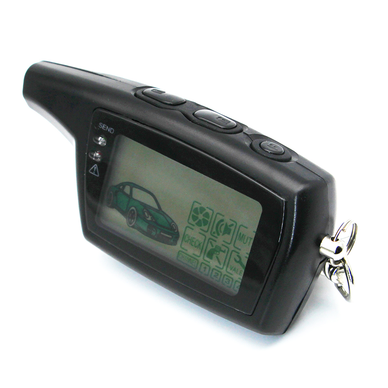 Fob-Chain-Keychain Car-Alarm-System Remote-Control-Key Pandora Dxl3000 Russian-Version title=